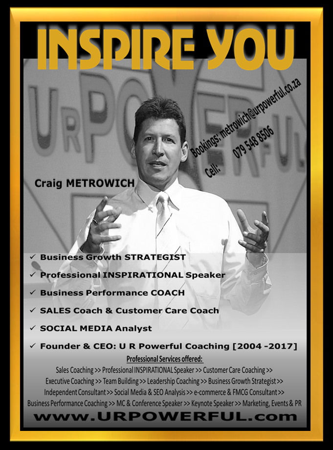 Craig METROWICH_INSPIRE YOU_GOLD WINNER_HD